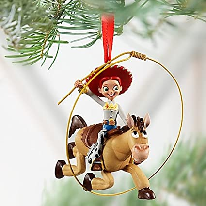Amazon Com Disney Jessie And Bullseye Toy Story Ornament Home