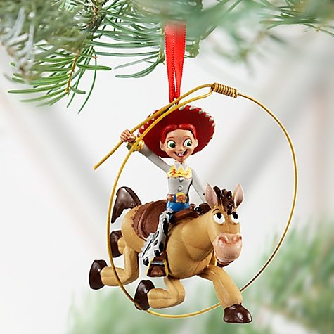 Toy Story Christmas Ornaments.Disney Jessie And Bullseye Toy Story Ornament