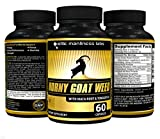 Horny Goat Weed With Tongkat Ali, Maca Root Extract & L-Arginine – Natural Herbal Complex Extract For Men (60 Capsules) For Sale
