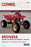 img - for Clymer Honda TRX400EX Fourtrax and Sportrax 1999-2007 (Clymer Color Wiring Diagrams) book / textbook / text book