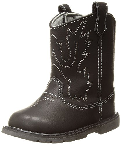 Baby Deer Baby 2-6791R Western Boot, Black, 4 Child US Toddler
