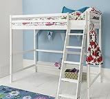 Cabin Bed High Sleeper in White kids Bed Texas Noa & Nani