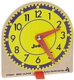 Judy Instructo Mini-Clocks - 4 1/8 x 4 inches - Set of 12