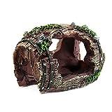 Aquarium-Resin-Barrel-Ornament-Fish-Tank-Cave-Landscaping-Decorations