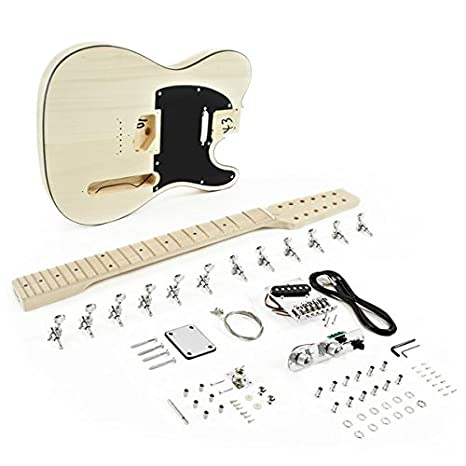Kit de Bricolaje de Guitarra Eléctrica Knoxville de 12 Cuerdas: Amazon.es: Instrumentos musicales