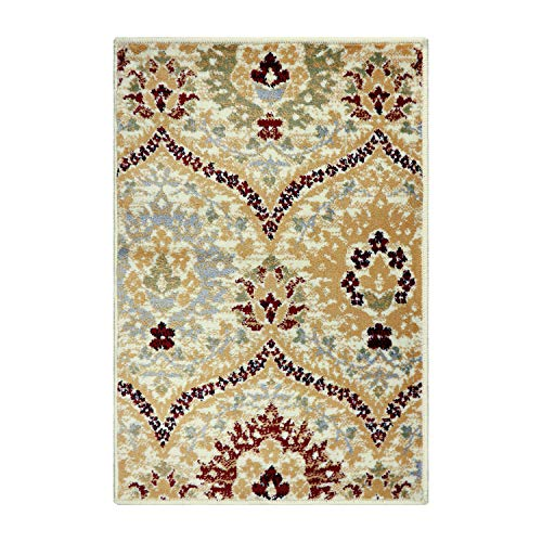 Superior Augusta Collection Area Rug, 8mm Pile Height with Jute Backing, Woven Fashionable and Affordable, 8' x 10' - Camel