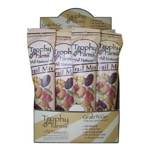 Trophy Farms All Natural Trail Mix, 2 Ounce - 12 per pack - 1 each.