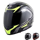 Scorpion EXO-R710 Focus Street Motorcycle Helmet (Red, Small)