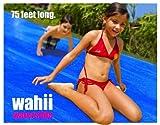 Wahii WaterSlide 75 - Worlds Biggest Backyard Lawn Water Slide!