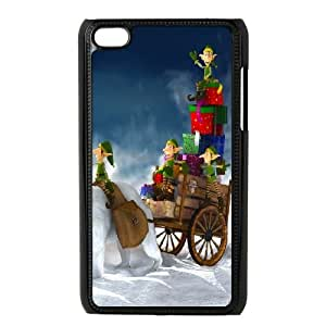 iPod Touch 4 Case Black Gifts For Christmas SU4408967