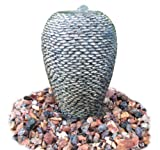 EasyPro NCV20 Stacked Pebble Statuary Fountain, 20-Inch High