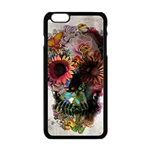 Cool Painting ali gulec skull Phone Case for Iphone 6 Plus