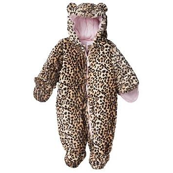 63ead817010f Amazon.com  Carter s Faux Fur Cheetah Print Baby Bunting 6-9 Months ...