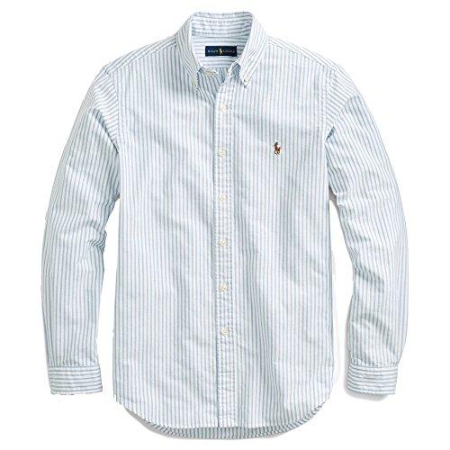 Ralph Lauren Men Solid Sport Oxford Shirt (L, ()
