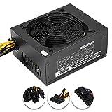 xlpace 2000W Modular Mining Power Supply PSU for 8 GPU Eth Rig Ethereum Miner