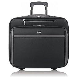 Solo Westside 16 Inch Rolling Laptop Overnighter Case, Black