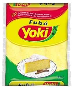 Fine Cornmeal Yoki - 17.6 Oz   Fubá Mimoso Yoki