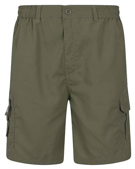 Big Size Mens Cargo 3//4 Pants Multi Pocket Elasticated Waist Cotton Holiday