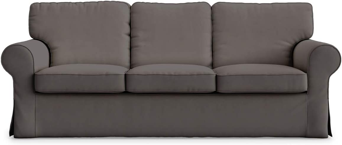 Funda de sofá Ektorp de 3 asientos de algodón hecha para la funda de sofá de 3 asientos Ikea Ektorp