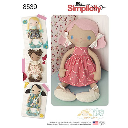 Simplicity Creative Patterns US8539OS Sewing Pattern Crafts