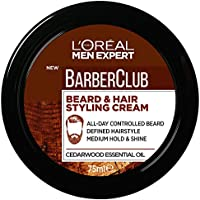 L'OREAL PARIS Men Expert Barber Club Beard & Hair Styling Paste, 75 Milliliter