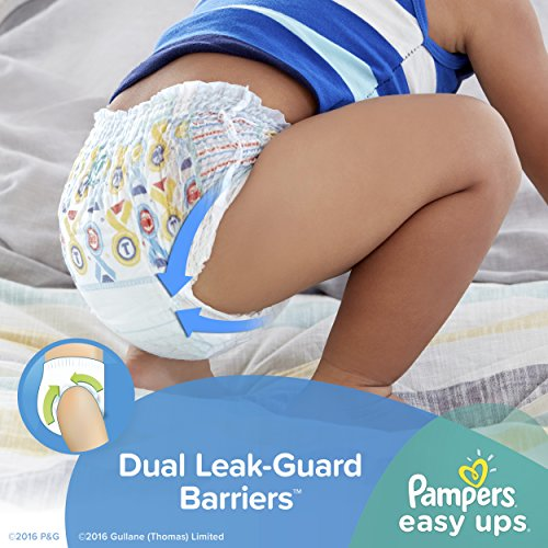 Large Product Image of Pampers Easy Ups Training Pants Pull On Disposable Diapers for Boys Size 6 (4T-5T), 120 Count, ONE MONTH SUPPLY
