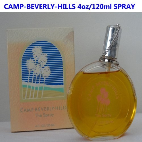 Camp Beverly Hills by Camp Beverlly Hills for Women. 4.0 Oz Eau De Perfume Spray by Camp Beverlly Hills