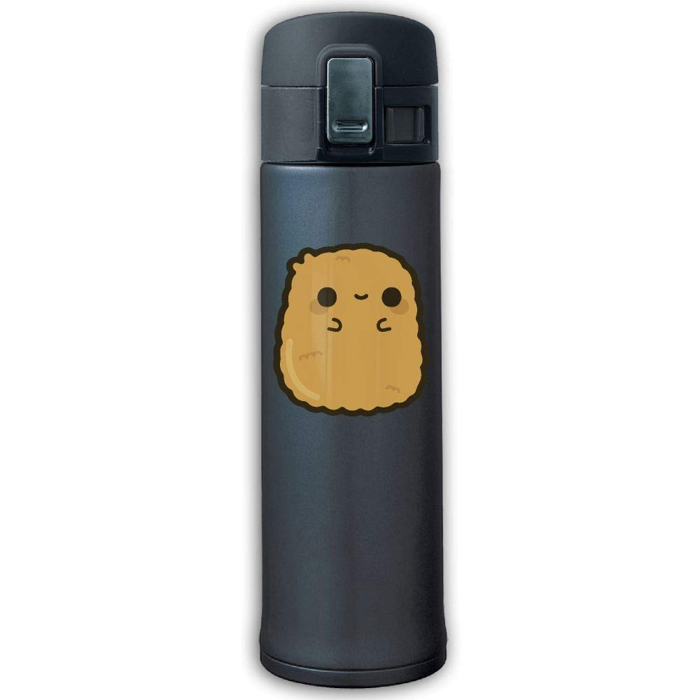 13 Ounce Stainless Steel Insulated Vacuum Travel Mug Security And No Peculiar Smell Cute Chicken Nugget Tea Kettle