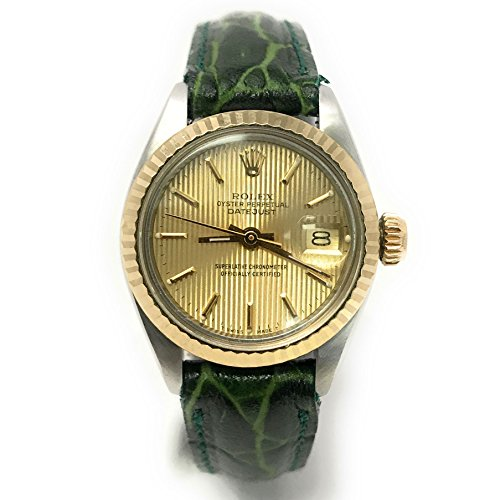 Used Ladies Rolex Watches (Rolex Datejust swiss-automatic womens Watch 6917 (Certified Pre-owned))