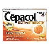 Cepacol Maximum Strength Throat Drop Lozenges, Honey Lemon, 16 Count (Pack of 3)