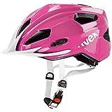 2015 Uvex Unisex Quatro JNR Helmet Pink White Uni 50-55cm