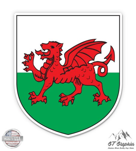 (GT Graphics Wales Coat of Arms - 3