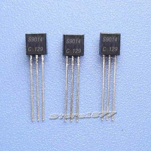 100pcs 2N2222 2N2907 2N3904 2N5401 2SC945 2N5551 8050 8550 9012 9013 9014 9015 9018 Transistor NPN PNP TO-92 (9014 NPN--100pcs)