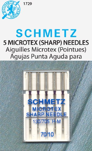 Microtex Sharp Machine Needles-Size 10/70 5/Pkg