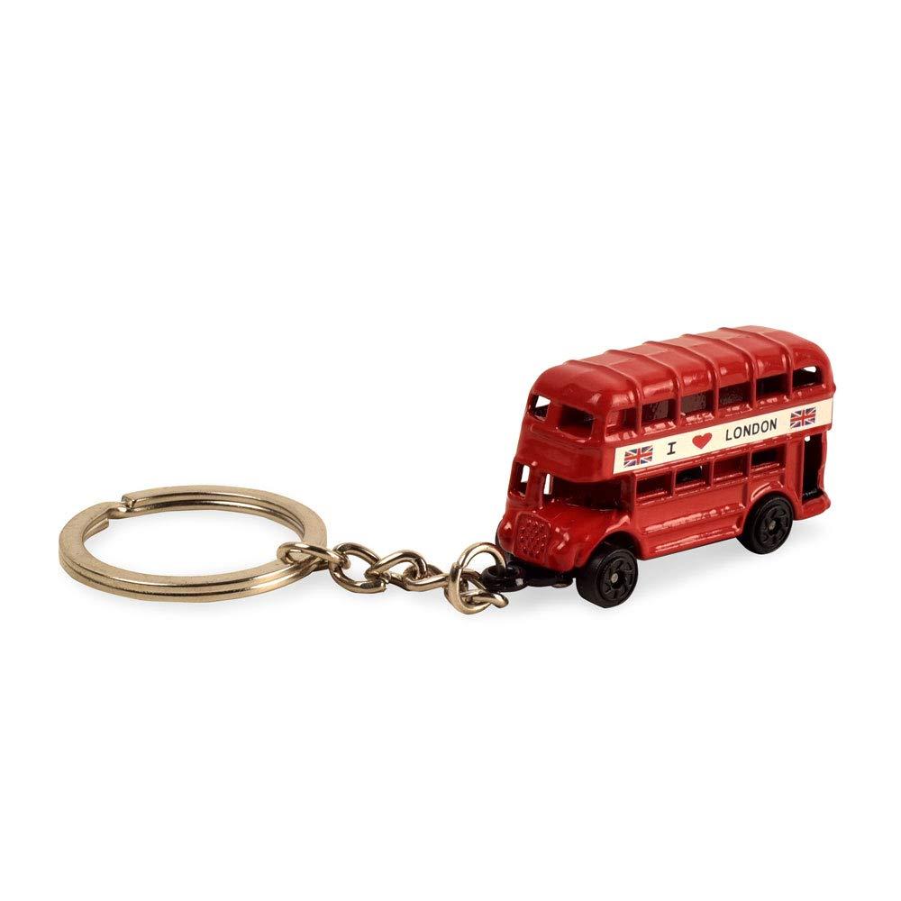 Amazon.com: BOHS - Llavero pequeño con diseño de autobús ...