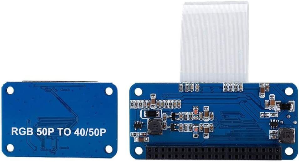 50Pin to 40Pin Professional Durable Practical for Raspberry Pi Adapter Board Kit Redxiao LCD Driver Board