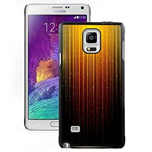 New Fashionable Designed For Samsung Galaxy Note 4 N910A N910T N910P N910V N910R4 Phone Case With Golden Shining Flows Phone Case Cover
