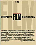 The Complete Film Dictionary, Ira Konigsberg, 0453005640