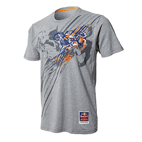 Red Bull KTM Factory Racing Dungey Pro Tee Heather Grey (Factory Racing)