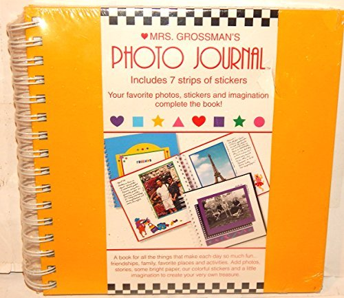 Mrs. Grossman's Photo Journal Yellow Cover 9