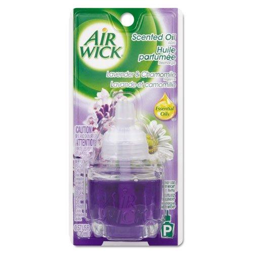 Air Wick perfumado aceite Refill, lavanda y manzanilla, 0.67oz Botella, Azul