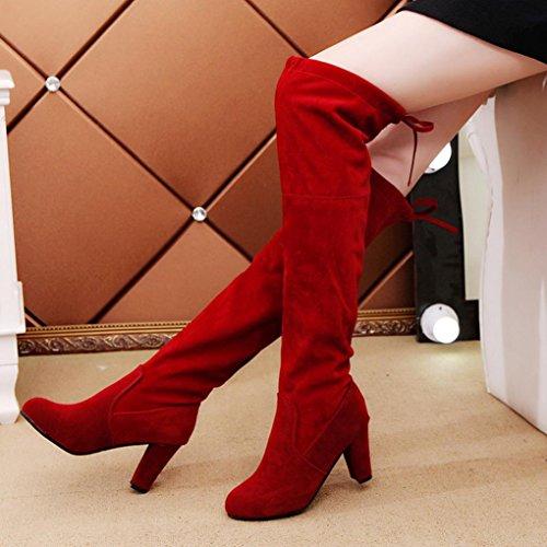 red Bottes Neige femme IGEMY de IOq7xH
