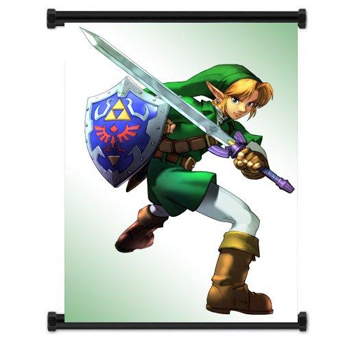 Legend Of Zelda: Ocarina de tiempo juego tela de pared ...