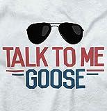 Talk to Me Goose New Parents Top Gun Romper Bodysuit