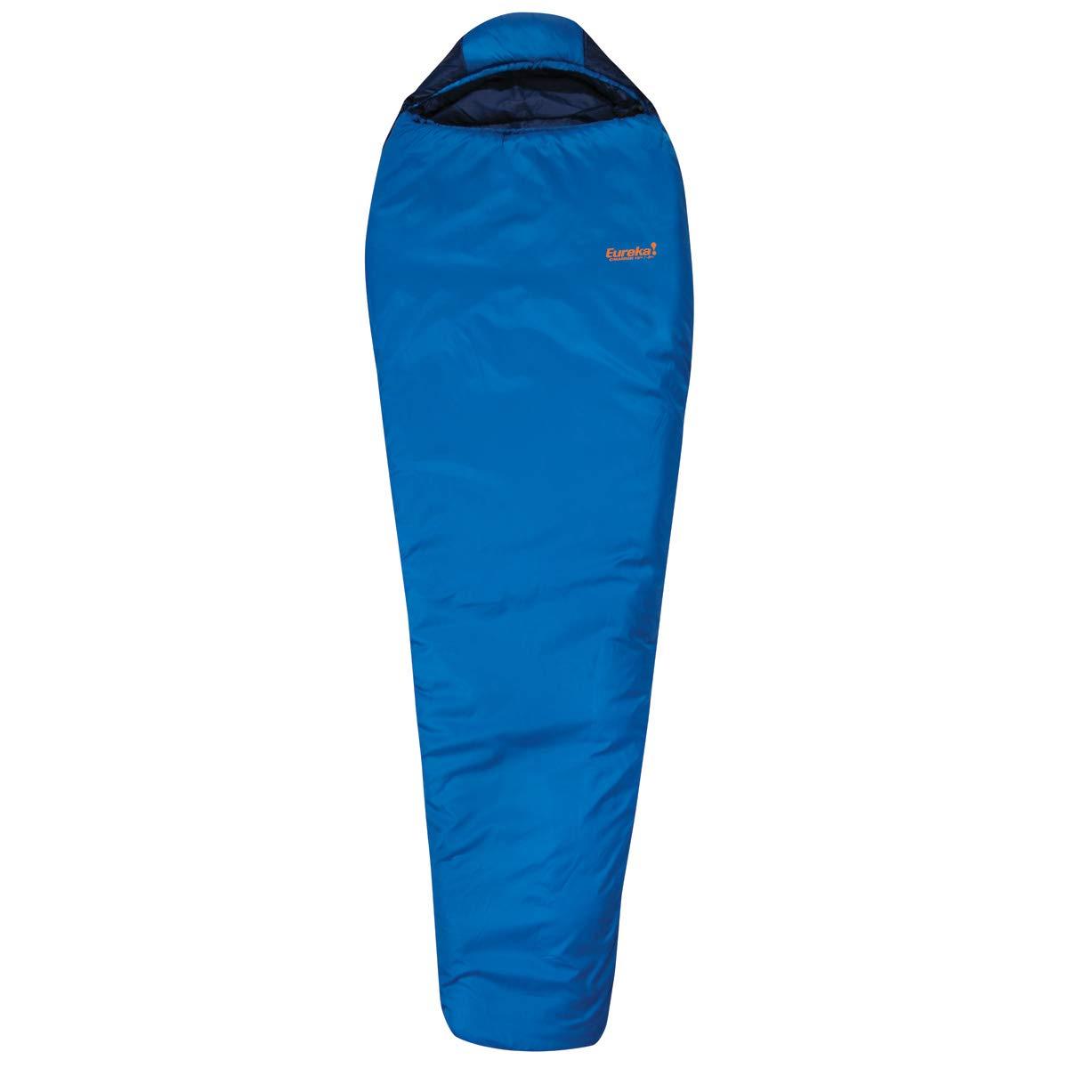 Eureka Cimarron 15-Degree, 3-Season Mummy Sleeping Bag, Regular Size, Blue 4 Pounds 1 Ounce