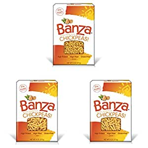 Banza Pasta Gluten-free Variety Pack | Elbows, Rotini, Penne