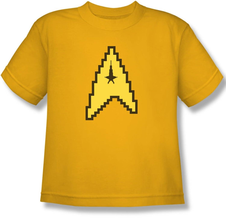 Star Trek - Youth 8 Bit Command T-Shirt
