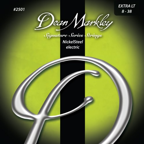 Dean Markley 2501 Extra Light Signature Series Electric Guitar Strings (0.08-0.38) 6-Strings