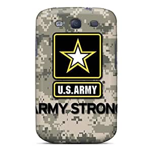 Samsung Galaxy S3 ZTw8941zBkL Unique Design Realistic Army Image Protective Hard Cell-phone Cases -DrawsBriscoe