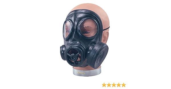 NEW RUBBER GAS MASK 1940S WAR GIMP FANCY DRESS (máscara/careta): Amazon.es: Juguetes y juegos